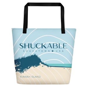KIAWAH ISLAND SHUCKABLE BEACH BAG