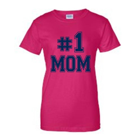 "I'm The ""#1 MOM"" T-shirt"