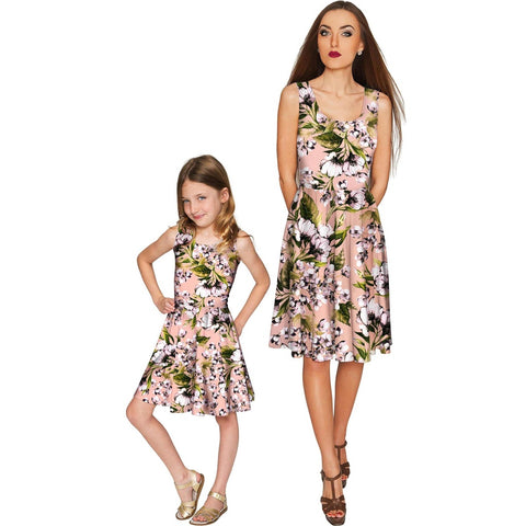 Ooh Darling Mia Fit & Flare Skater Mommy and Me Dress