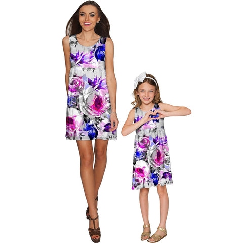 Floral Touch Sanibel Empire Waist Mommy and Me Dresses