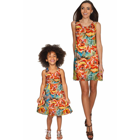 Fox Sanibel Empire Waist Mommy and Me Dress
