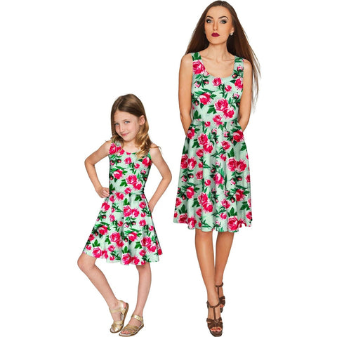 Sweetheart Mia Fit & Flare Skater Mommy and Me Dresses