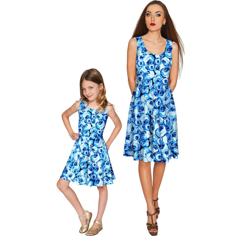Whisper Mia Fit & Flare Skater Mommy and Me Dress