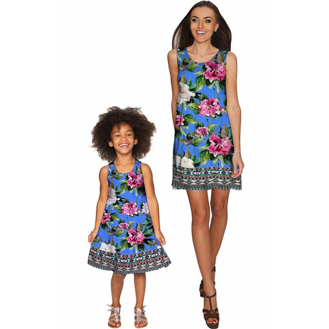 Aquarelle Sanibel Empire Waist Mommy and Me Dress