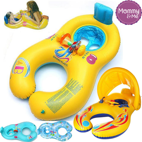 Mommy and Me Double Swimming Ring