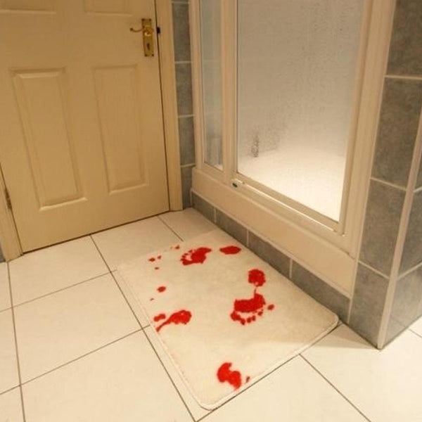 Image result for bloody bath mat