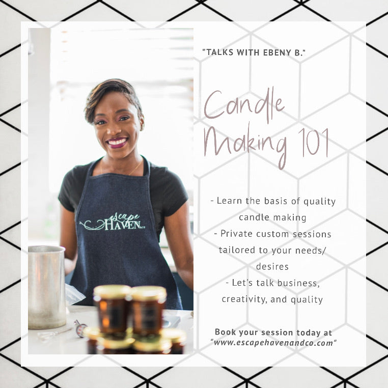 Candle Making 101 (Private Session)
