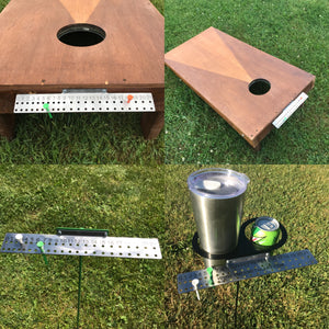 Cornhole score keeper Free Shipping corn hole bag toss score board Patented