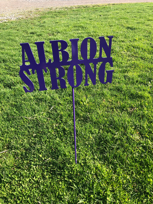 Albion Strong Yard stake