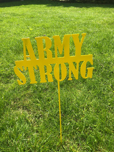 Army Strong Yard stake