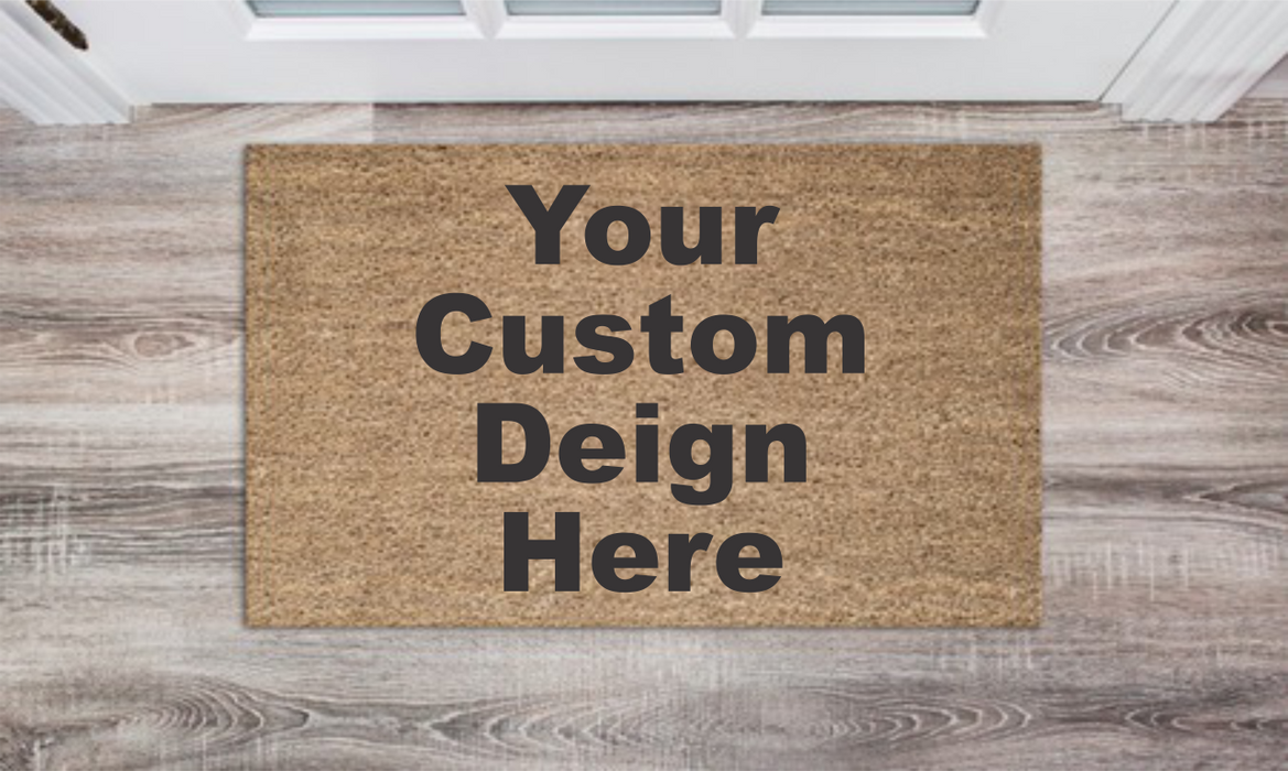 Custom Design Personalized Doormat Custom Doormat Wedding Gift Housewarming Gift Closing Gift Welcome Doormat Front Door Mat Farmhouse Decor