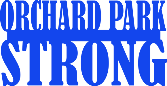 Orchard Park Strong Yard stake