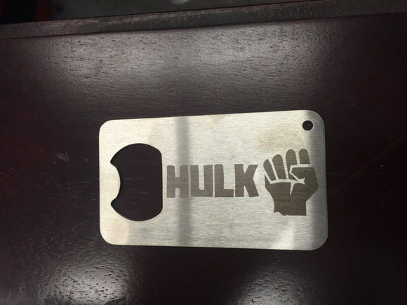 Hulk Avengers  Man Card   FREE SHIPPING Stainless Steel Made to last