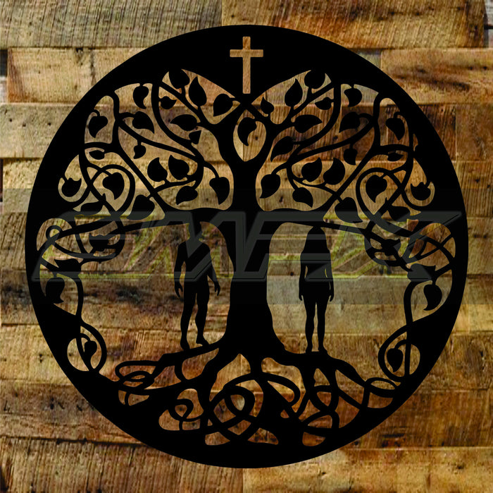 Tree Of Life Adam and Eve
