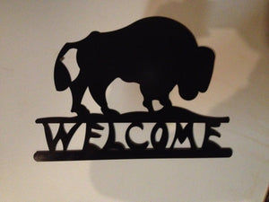 Welcome Bufflao Sign