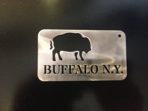 Buffalo New York Card Bottle opener and key chain Buffalo  Stainless Steel Made to last