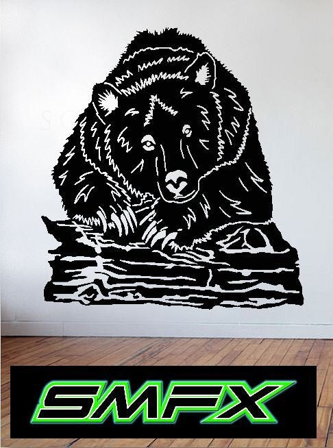 Bear  metal art