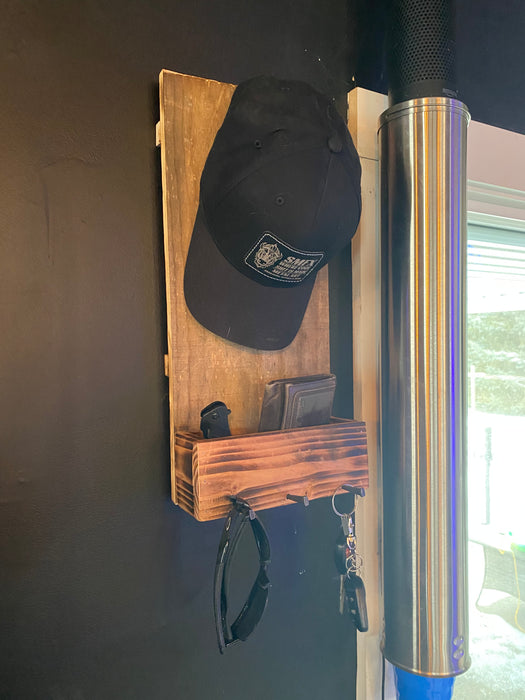 Gone Fishing Man Rack Hat rack for the guys