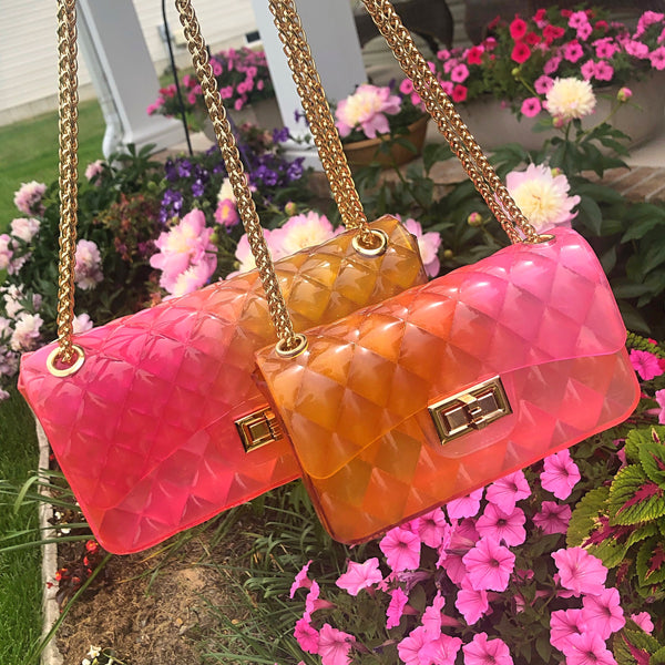 Jelly Bag - Yellow/Pink