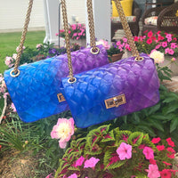 Jelly Bag - Blue/Purple