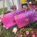 Jelly Bag - Pink/Purple