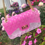 Jelly Bag - Pink/Clear