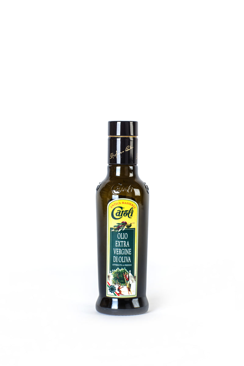 Caroli Classic Italian EVoo. Cold Pressed. 8oz Preziosa Bottle