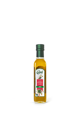 Caroli Italian EVoo 8oz Flavored. Cold Pressed. Garlic