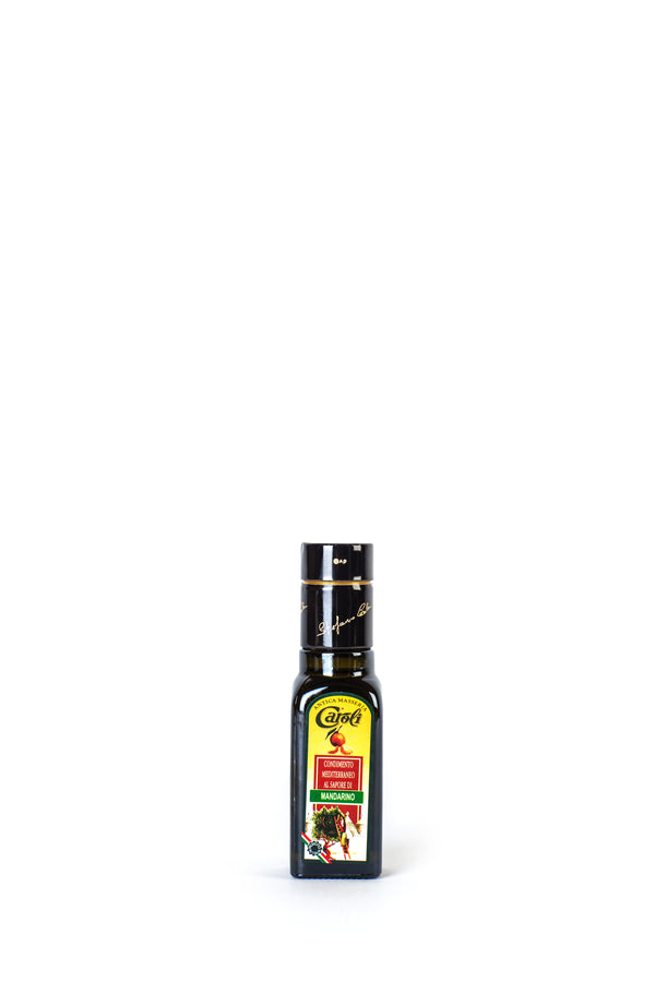 Caroli Italian EVoo Flavored. Cold Pressed. Tangerine - 3.4oz Square Bottle