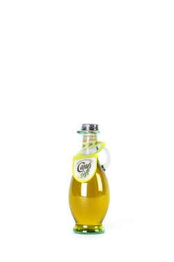 "Bottle ""Atene"" lt.0,25 extrav.olive oil basil"