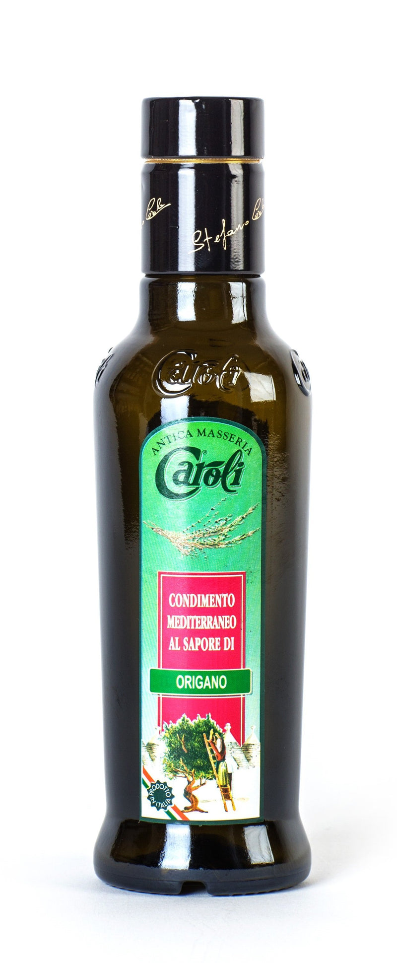 Caroli USA, Inc Caroli EXTRA VIRGIN OLIVE OIL 250 ml (8.4 fl oz) Flavored. Cold Pressed.