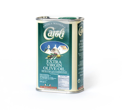 Caroli USA, Inc Extra Virgin Olive Oil 8oz Tin Caroli Classic Italian Extra Virgin Olive Oil. First cold press. Delicious flavour!