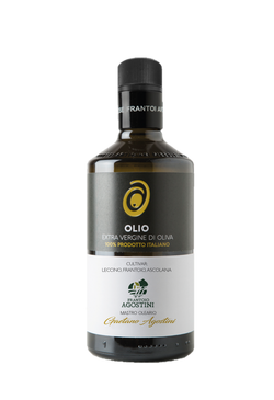 Caroli USA, Inc Extra Virgin Olive Oil Agostini Best Regional Italian Extra Virgin Olive Oils from Consortium FAPI - 500 ml (16 fl oz). Cold Pressed