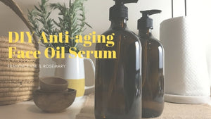 Flair Essentials blog DIY Anti-aging face oil serum recipe essential oils