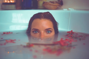 Photo by Timothy Dykes - bath salts and aromatherapy