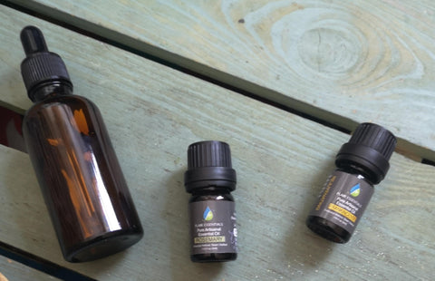 Face oils with frankincense and rosemary recipe DIY