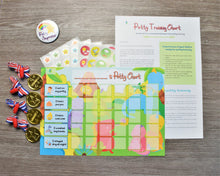 Potty Training Reward Chart Dinosaurs with 140+ Stickers, Reward Medals, Completion Badge