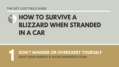 How to Survive a Blizzard Infographic by Get Lost - p1