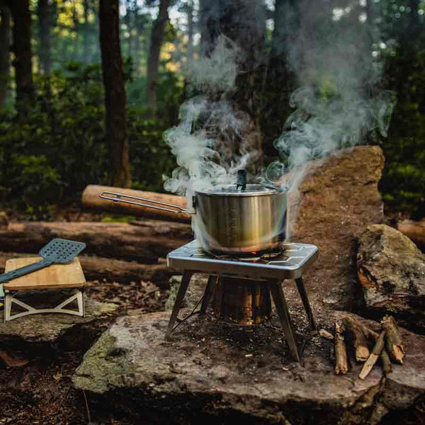 ncamp stove boiling water