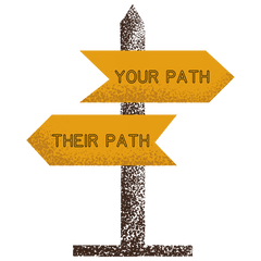 Follow Your Path Sign