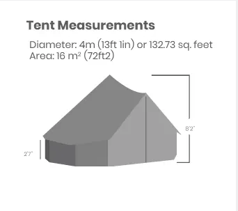 white duck 13' regatta - dimensions