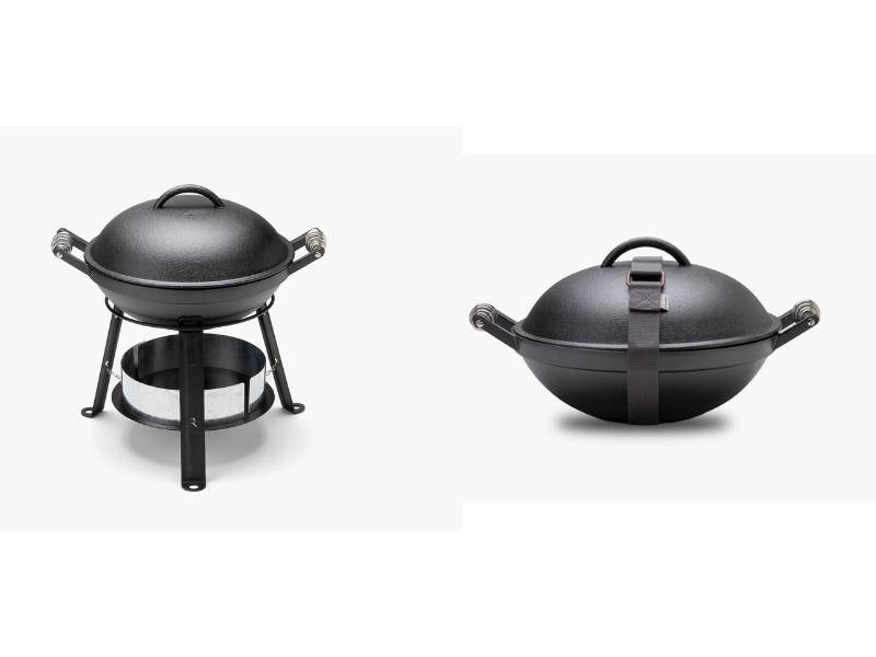 cast iron all in one grill