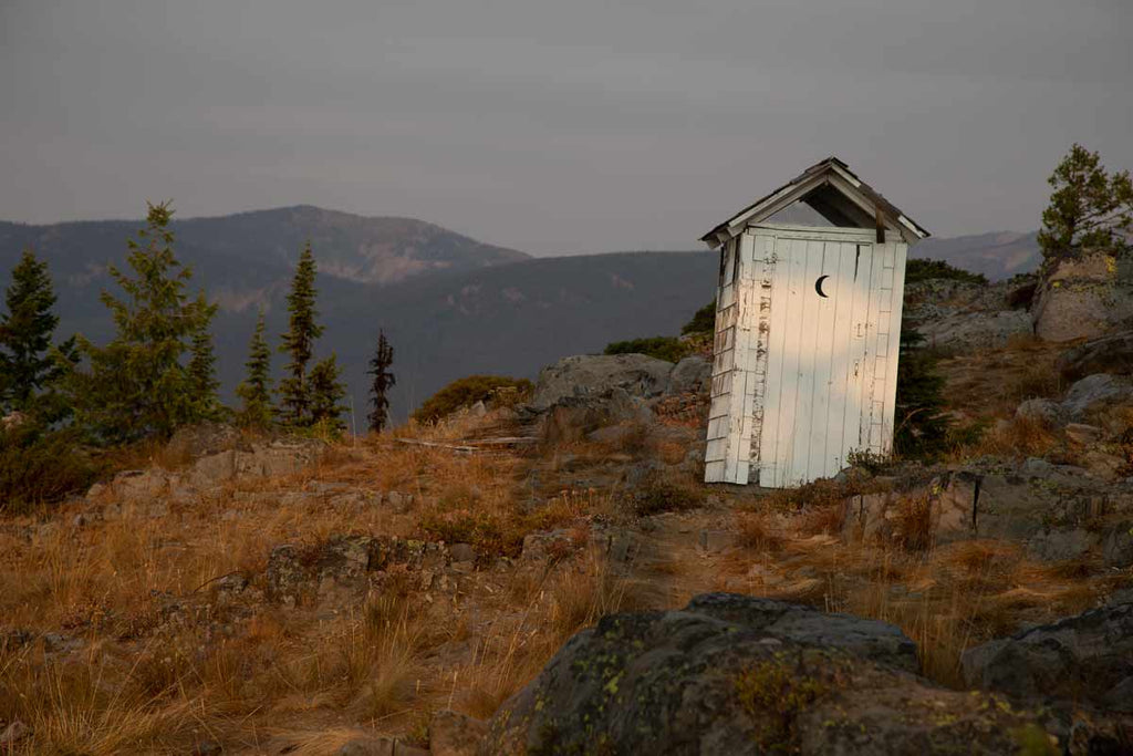 garver mountain outhouse