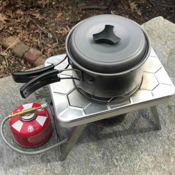 ncamp stove with adapter