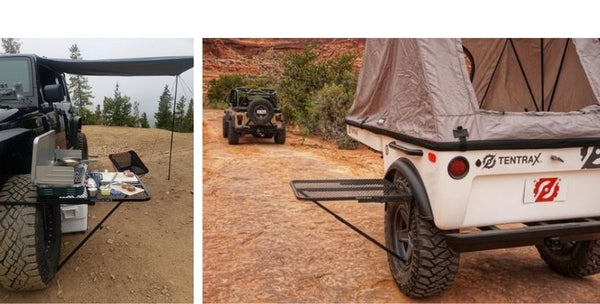 steel tailgater table