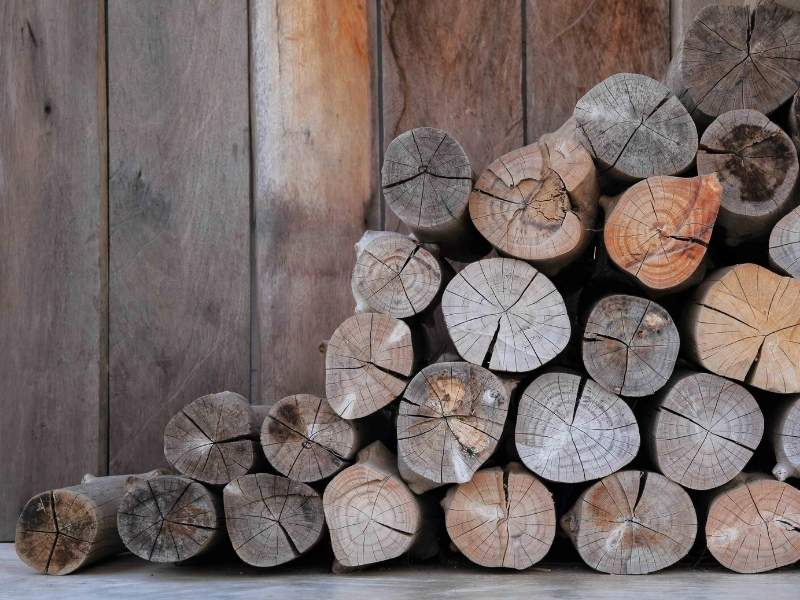 A good cooking fire begins with quality wood