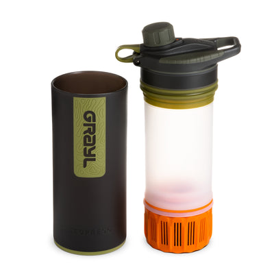 24oz GRAYL® GeoPress™ Purifier24oz Grayl geopress purifer - Camo Black - filter