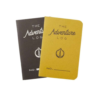 YELLOW AND BLACK ADVENTURE LOG