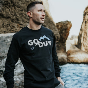 GET LOST GO OUT LONG SLEEVE TEE - MEN'S