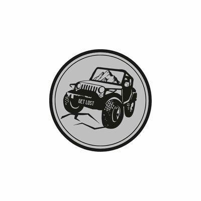 Get Lost Jeeper Sticker